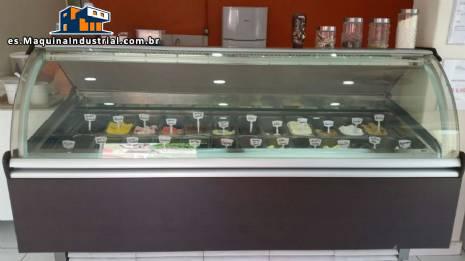 Soporte de exhibición de helado Isa