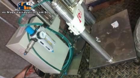 Palanquilla electro-neumática y cepilladora manual con pinzas