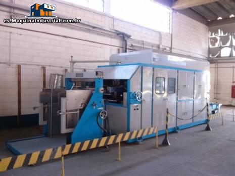 Máquina de termoformado automática al vacío Dae Kwang