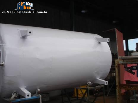10000 litros de tanque de leche tipo globo